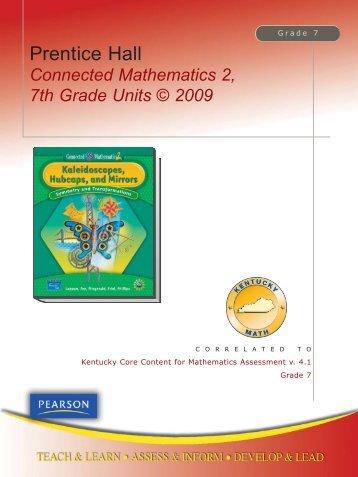Prentice hall mathematics connected mathematics 2 7th grade connected mathematics 2 7th grade units pearson fandeluxe Gallery