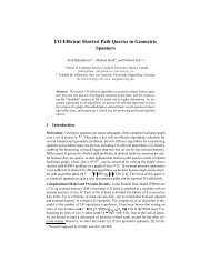 I/O-Efficient Shortest Path Queries in Geometric Spanners