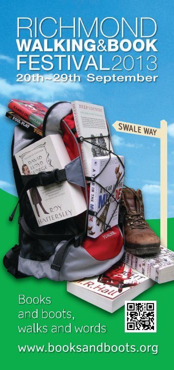 Books and boots, walks and words