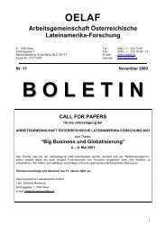 Boletín 11 (2000) - Lateinamerikaforschung Austria