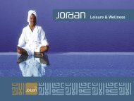 Leisure & Wellness - Jordan Tourism Board