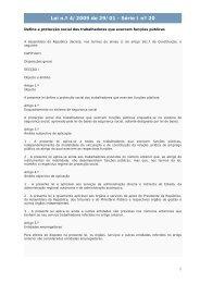 Lei n.º 4/2009 de 29/01 - Série I nº 20 - Portal das Finanças