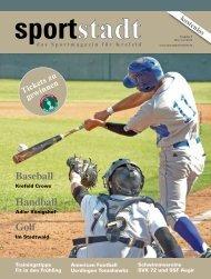 Baseball Handball Golf - Sportstadt - Das Sportmagazin für Krefeld