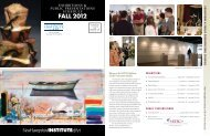 FALL 2012 - New Hampshire Institute of Art