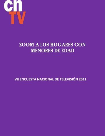 Informe Marzo 2012_Zoom - Red Infancia & Comunicación