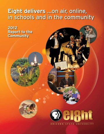 Eight delivers …on air, online, in schools and in ... - Visit the Web site