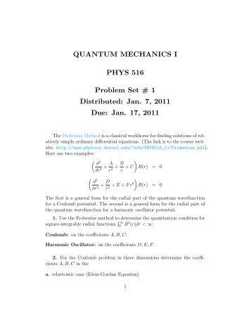 [PDF] Problem Set #1