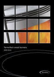 TermaTech wood burners - The Stove Yard