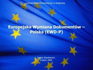 Europejska Wymiana Dokumentów – Polska (EWD-P)