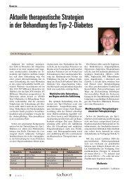 Aktuelle therapeutische Strategien in der Behandlung des Typ-2 ...