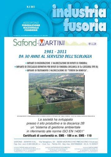 Industria fusoria N. 3 2012 - Assofond