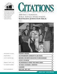 Kathleen Johnston Back - Ventura County Bar Association