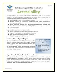 Accessibility - Social Services - Region of Waterloo