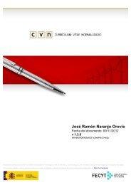 José Ramón Naranjo Orovio - Centro Nacional de Biotecnología