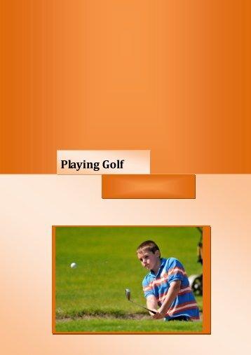 Playing Golf - Junior Golf Ireland