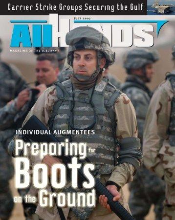 Hands Magazine: Securing the Gulf - U.S. Navy
