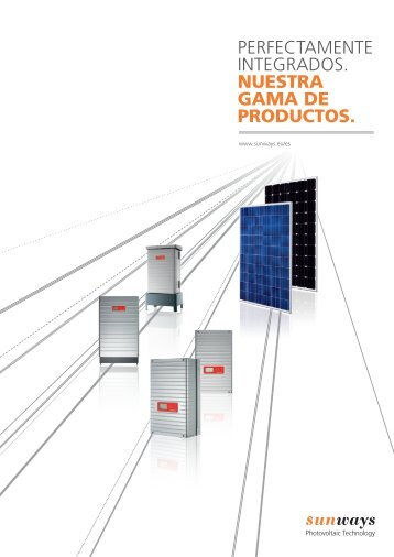 Sunways AG - Portal de Ingenieros Españoles