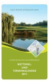 november - Golf Resort Bitburger Land
