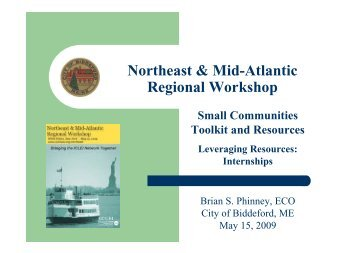Small Communinties Presentation from Biddeford, Maine