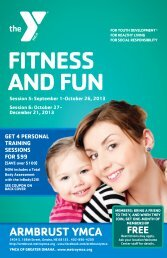 FITNESS AND FUN - Armbrust YMCA