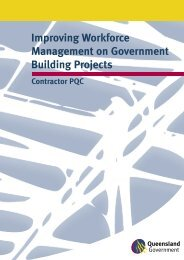 Improving Workforce Management on Government Building Projects