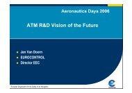ATM R&D: vision of the furture - Aeronautics Days 2006