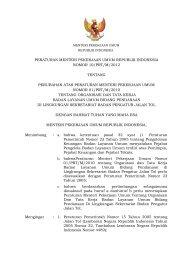 10/PRT/M/2012 - Badan Pengatur Jalan Tol