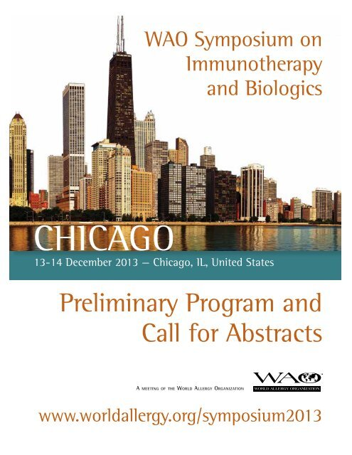 About Chicago - World Allergy Organization