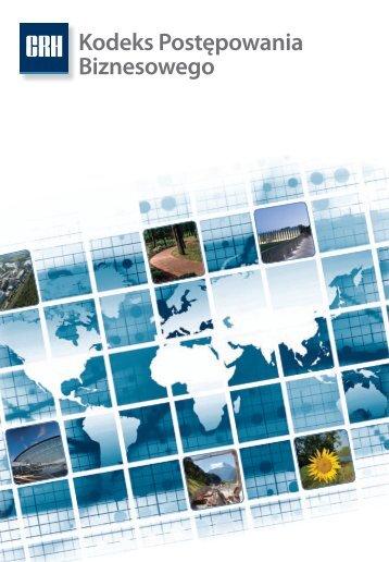 Kodeks Postępowania Biznesowego - CRH