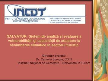Proiect SALVATUR_INCDT