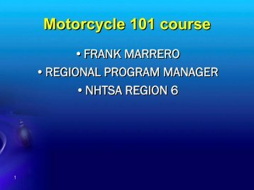 Course PPT Template - Texas A&M Transportation Institute