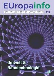 Umwelt & Nanotechnologie - EU-Umweltbüro
