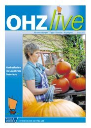 Herbstferien im Landkreis Osterholz - Lilienthal