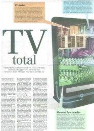 TV-Archiv Kino und Sportstadion - RW Oberwallis