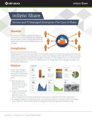inSync Share: Secure Enterprise File Sharing & Collaboration - Druva