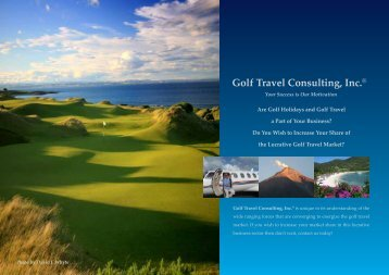 Golf Travel Consulting, Inc.®