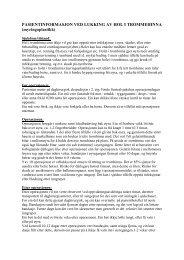 Pasientinformasjon ved lukking av hol i trommehinna - Helse Førde