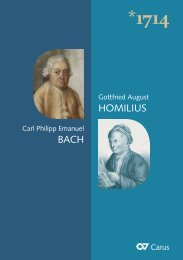 Katalog 1714 - Carus-Verlag
