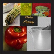 Rhodes Catering - CampusDish