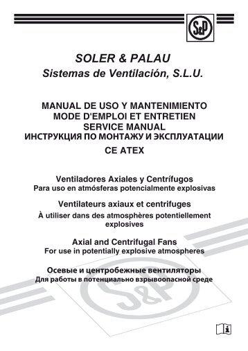introduction - Soler & Palau Sistemas de Ventilación, SLU