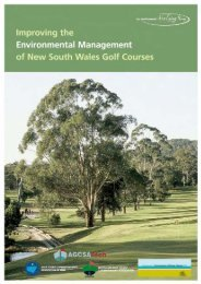 Improving the Environmental Management of New South Wales Golf ...