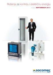 Rešenja za kontrolu i električnu energiju
