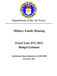 department of the air force - Air Force Financial Management ...