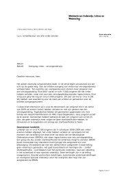 Brief aan vmbo -scholen - Aanval op schooluitval