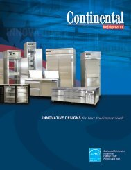 Download PDF - Continental Refrigerator