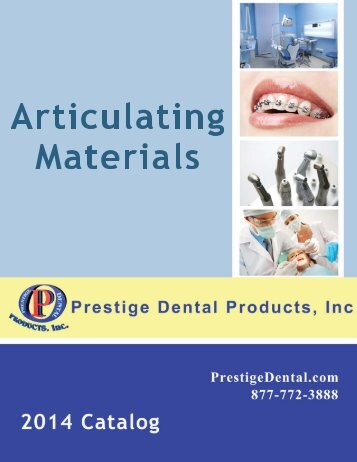 Articulating Materials - Prestige Dental Products
