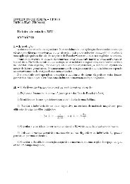 Roteiro de estudos XIV - Instituto de Física - UFRGS