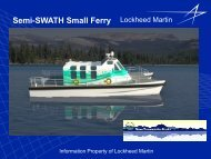 Update on Upper Cook Inlet Ferry Operations Presentation, Lewis ...