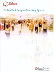 ST390 epicos - Embedded People Counting System