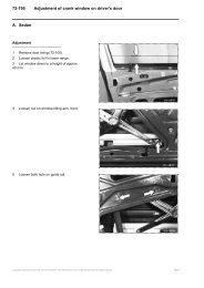 w124 Adjustment of crank window on driver's door.pdf